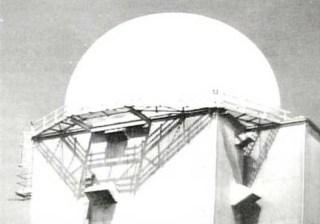 Radar tower, CFS Dana Saskatchewan