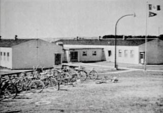 Sagehill School, looking SW, CFS Dana, Saskatchewan