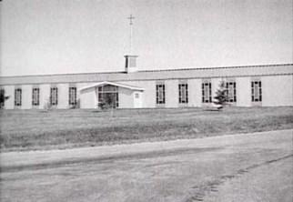 Chapel Exterior, CFS Dana, Saskatchewan