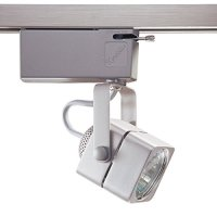 Kendal Lighting TL901-BST   Designers Choice Cylinder 1 Light 12V Track Head, Brushed Steel Finish