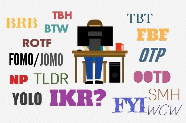 Internet slangs