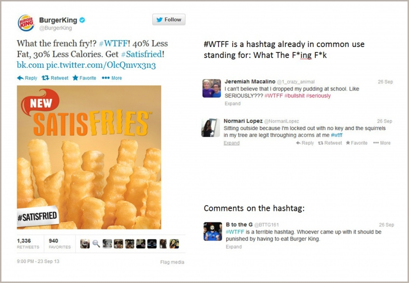 Burger King social media contest fail