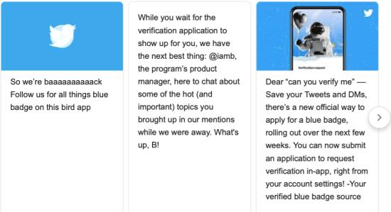 Twitter verification relaunch update 2021