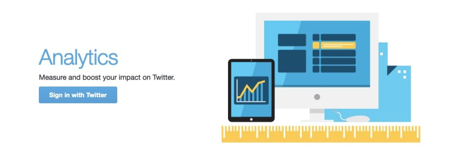 Native Twitter analytics feature