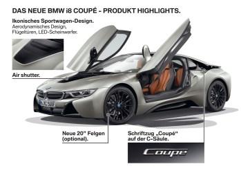 The New BMW i8 Coupe - Highlights