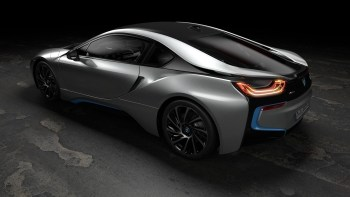 The New BMW i8 Coupe