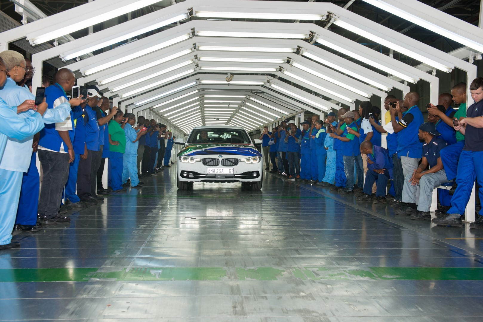 BMW 3 Series BMW Group Plant Rosslyn