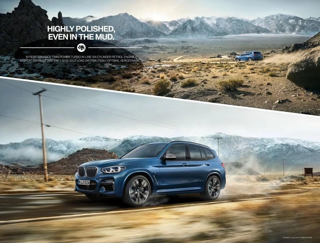 BMW X3 Brochure (2018)   PDF Download