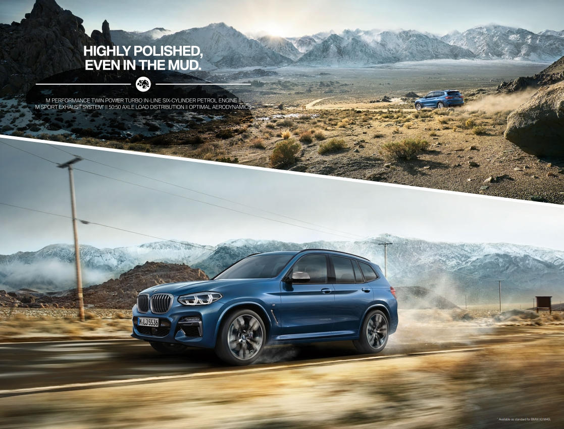 BMW X3 Brochure (2018) | PDF Download