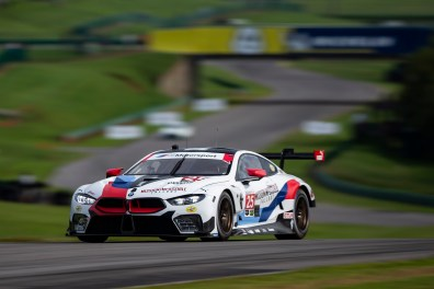 17.08.2018 to 19.08.2018, IMSA WeatherTech Sportscar Championship 2018, Michelin GT Challenge at VIR, Virginia International Raceway, Alton, VA (USA). Alexander Sims (GBR), Connor de Phillippi (USA), No 25, BMW Team RLL, BMW M8 GTE