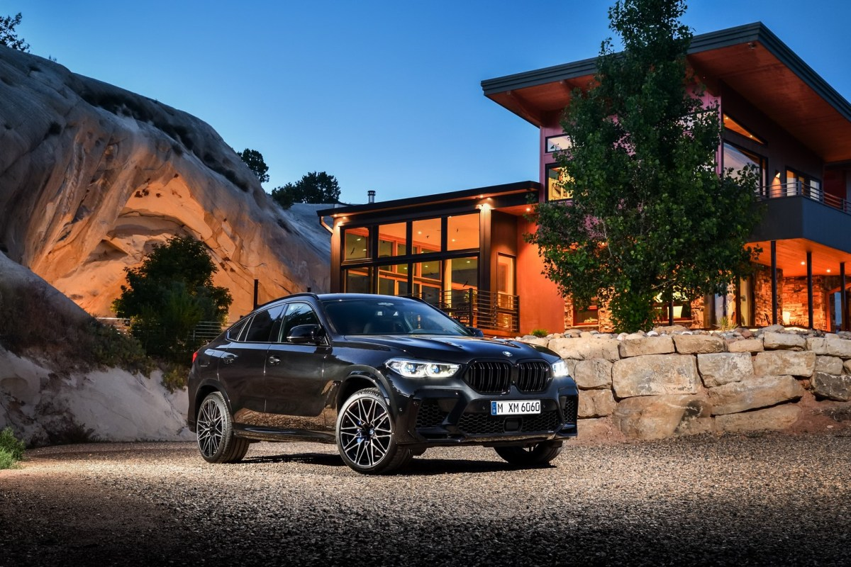 BMW X6M and BMW X6 M Competition