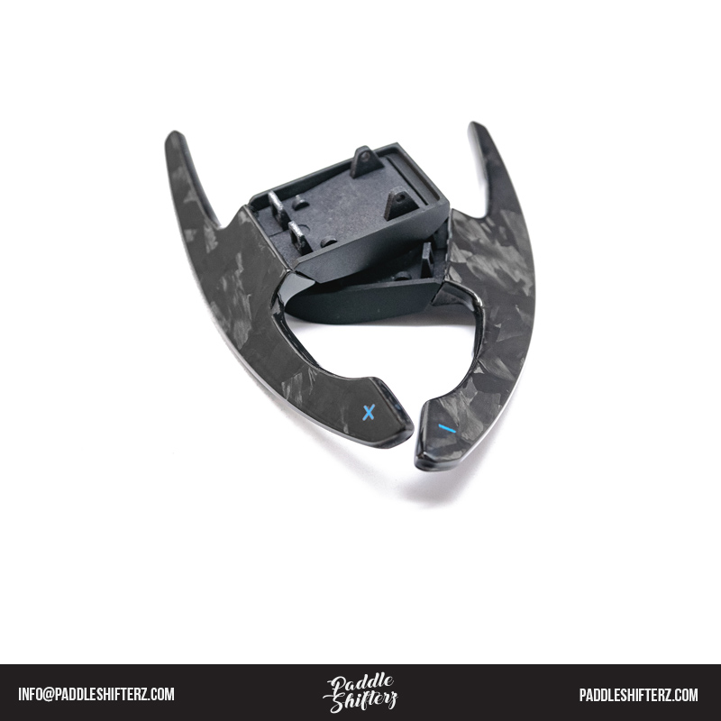 Forged Carbon fibre Paddle Shifters For BMW 3