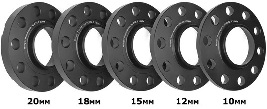 Burger Motorsports BMW Wheel Spacer Kit + 10 Bolts (X5-X6)