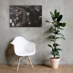 Custom Automotive Part Canvas Print