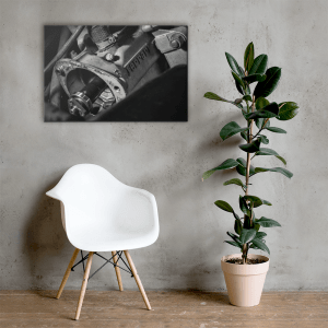 Ferrari GTB Turbo Gearbox Canvas Print