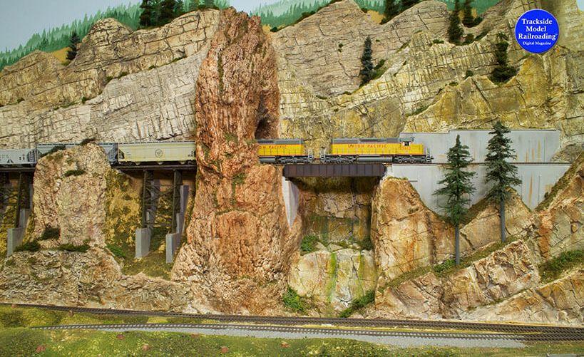 Trackside Model Railroading Cascade Pacific in HO.