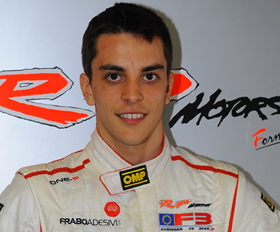 Santiago Urrutia driving for Team Pelfrey (Photo Courtesy of Santiago Urrutia)