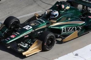 Luca Filippi managed to take the checkered flag in the Toyota Grand Prix of Long Beach in 22nd position, despite an issue early in the race when the car stalled entering the pit lane. It was Filippi's first race in the streets of Long Beach.