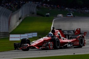 Rahal at Barber Courtesy of Honda 2015