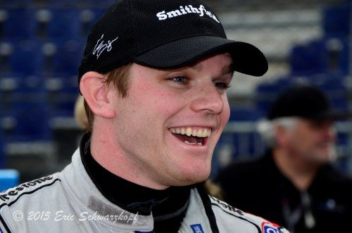 Conor Daly happy to be back at IMS !