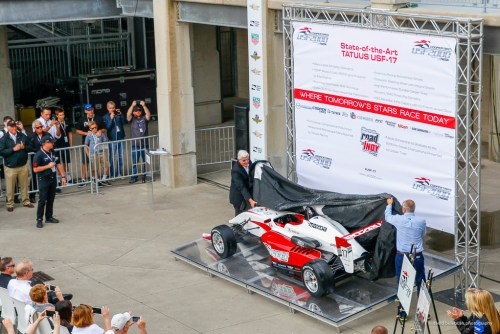 Unveilling of New USF2000 Car