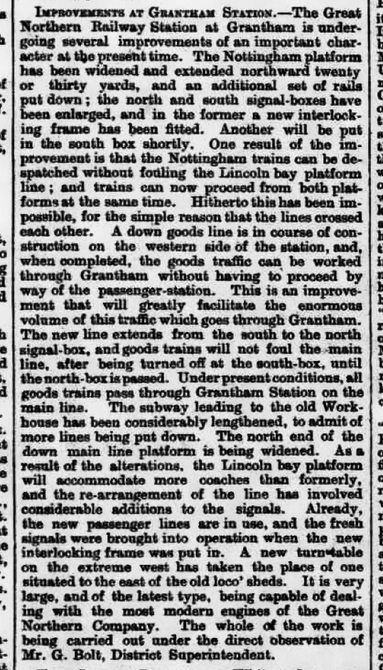 The Grantham Journal 6th June 1903, page 4 From The British Newspaper Archive Image © THE BRITISH LIBRARY BOARD. ALL RIGHTS RESERVED.