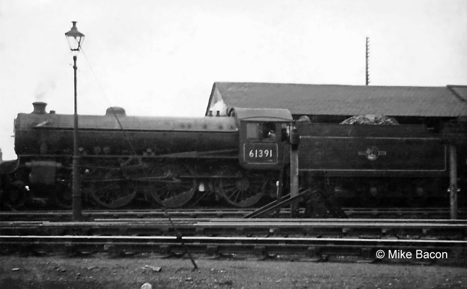 Class B1 No. 61391 stands at the Western Platform. Photograph by Mike Bacon.