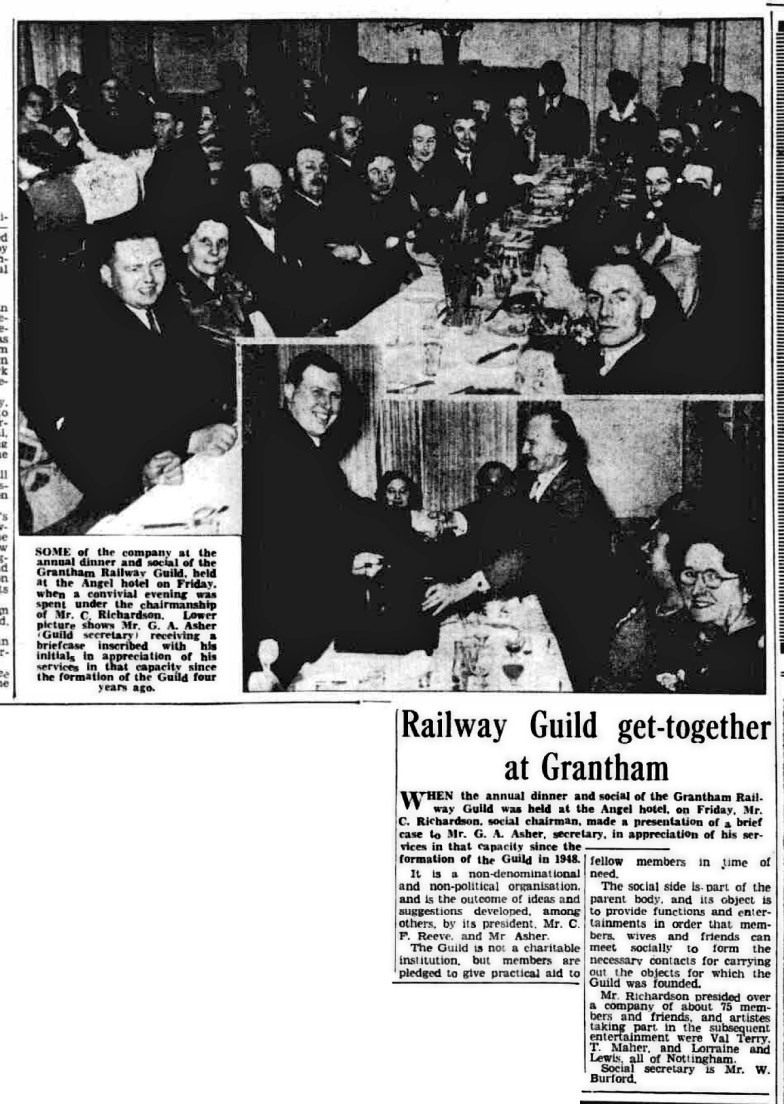 From The Grantham Journal, 28th March 1952.