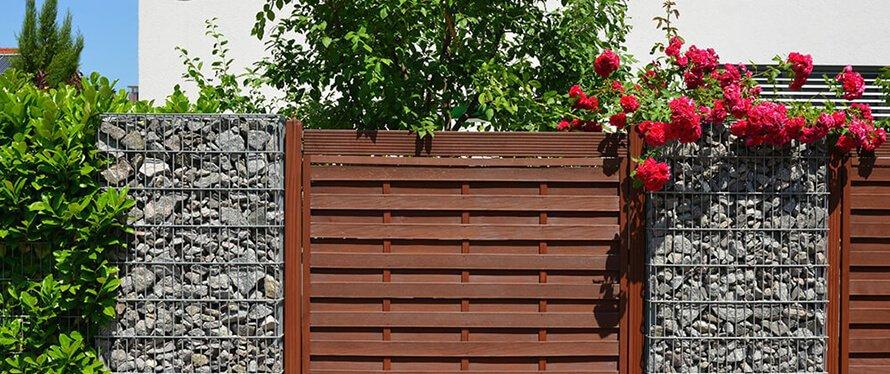 Zaun Mauer Ideen
