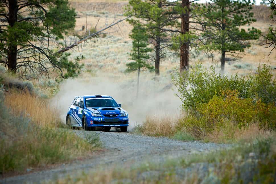 Pacific Forest Rally 2011 subaru wrx