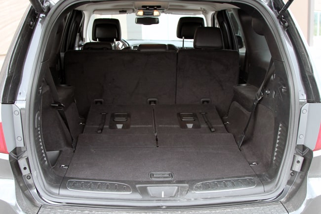 2011 Dodge Durango Citadel Review rear cargo
