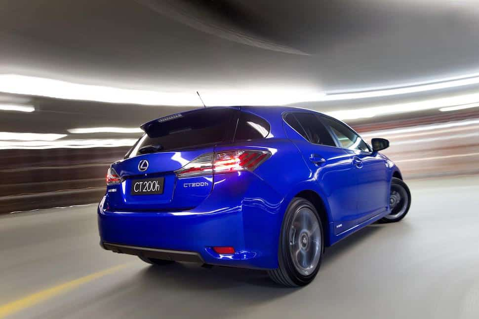 2012 Lexus CT 200h f sport package
