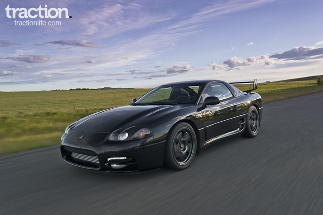 porsche hunter a rare 1999 mitsubishi 3000gt vr4. Black Bedroom Furniture Sets. Home Design Ideas