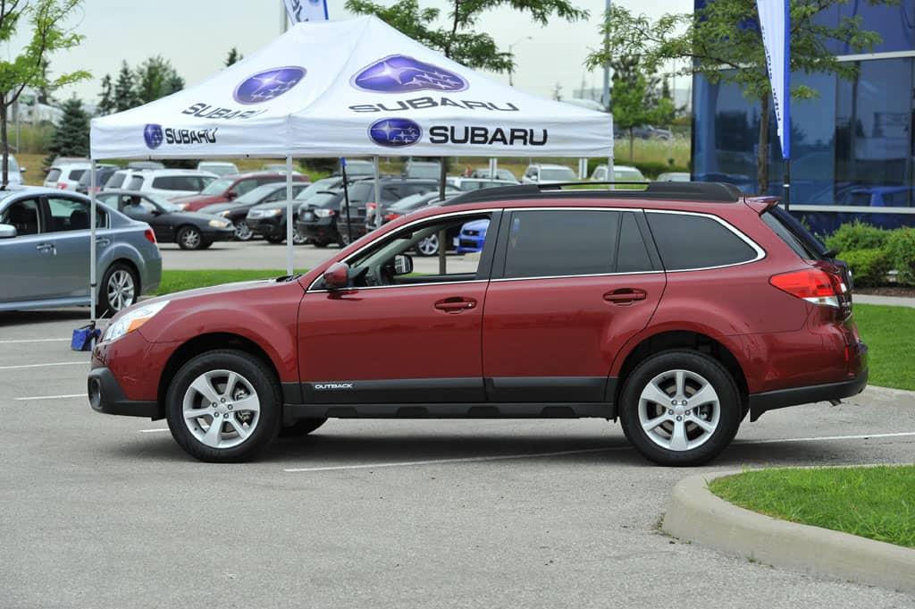 2013 Subaru Outback review
