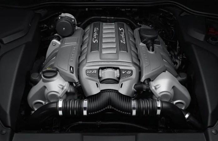 2013 Cayenne Turbo S engine