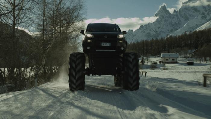 Fiat Panda Monster Truck