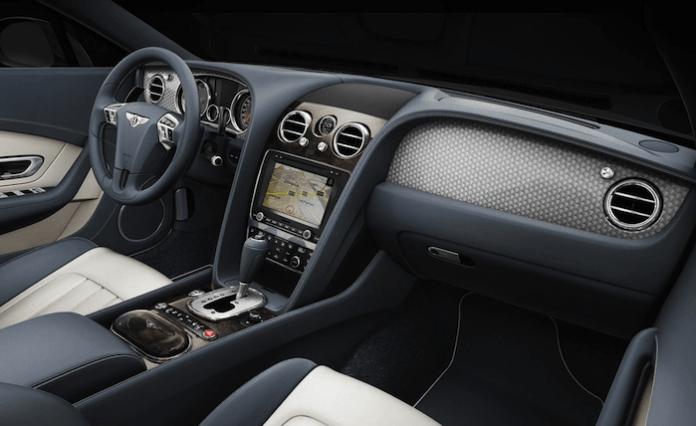 2013 Bentley Continental GT V8 interior