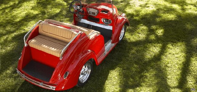 Pennwick Custom Golf Carts-smoosher