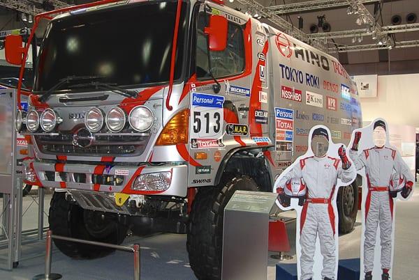 HINO_500_GT_Dakar_Race_Truck 2013-tokyo-motor-show