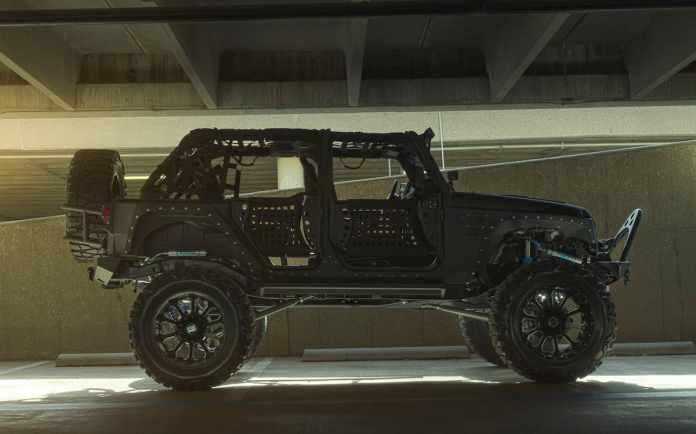 Starwood Motors Full Metal Jacket Jeep Wrangler sideview