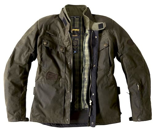 Spidi-Worker-Wax-Motorcycle-Jacket-back