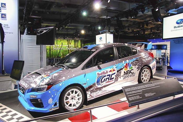 2015 Subaru WRX STI Global Rallycross Racer