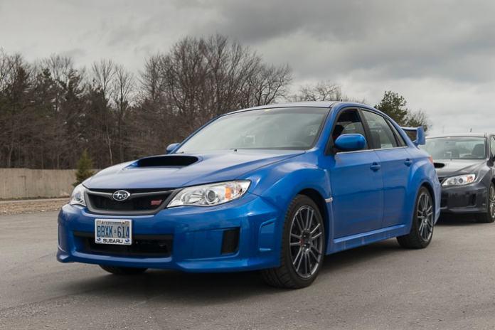 2014 Subaru WRX STI-front