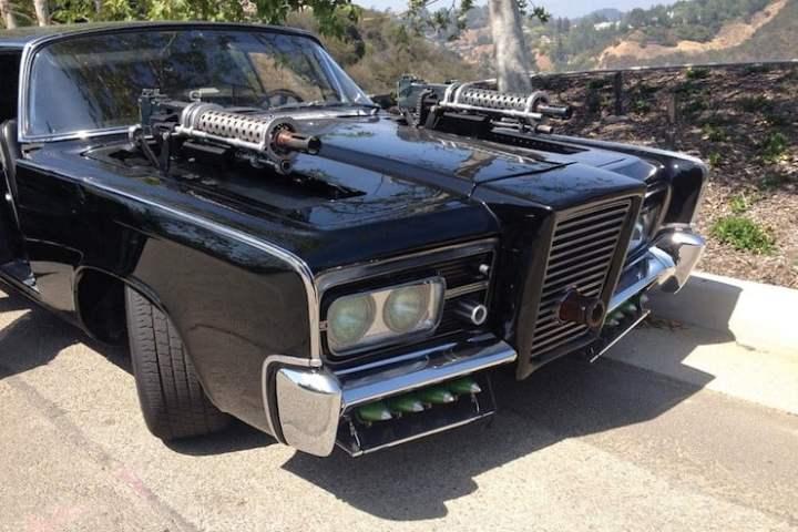 1965 Chrysler ImperiaGreen Hornet Black Beauty