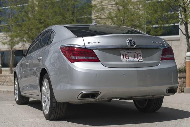 2014 Buick LaCrosse Review rear