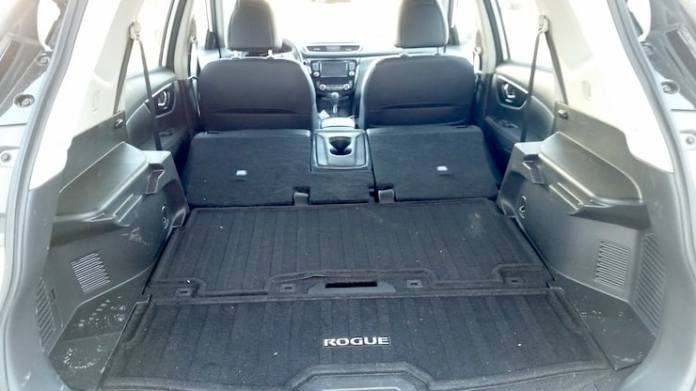 2015 Nissan Rogue SL AWD Review cargo