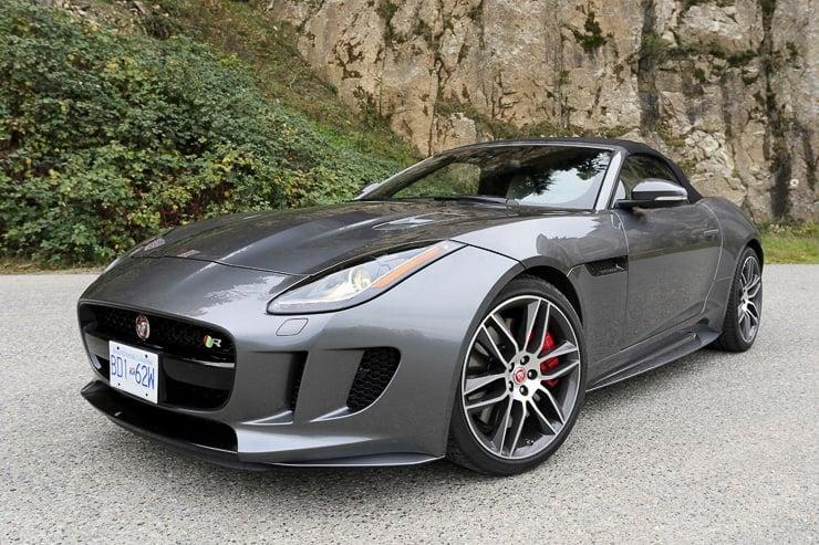 Drive: 2016 Jaguar F-type R Convertible Review