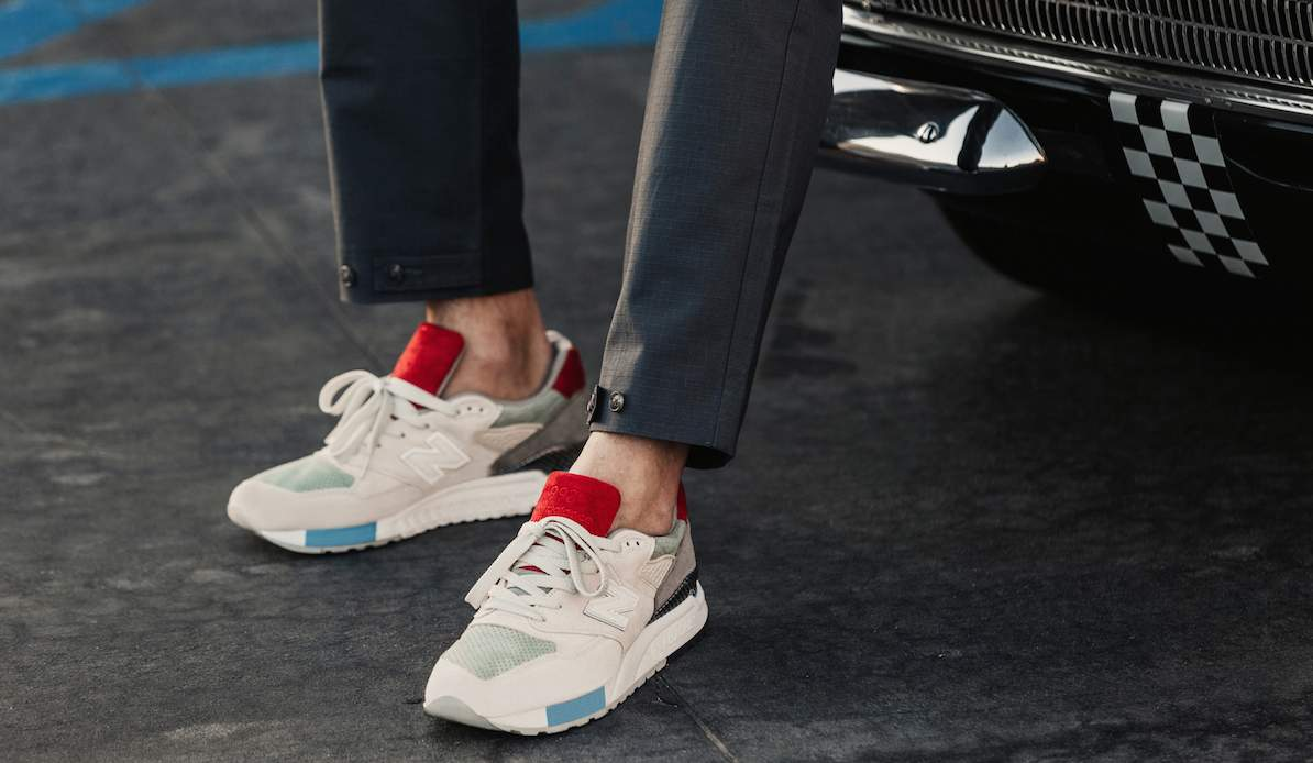 Gear: New Balance 998 Grand Tourer Inspired by Auto Races