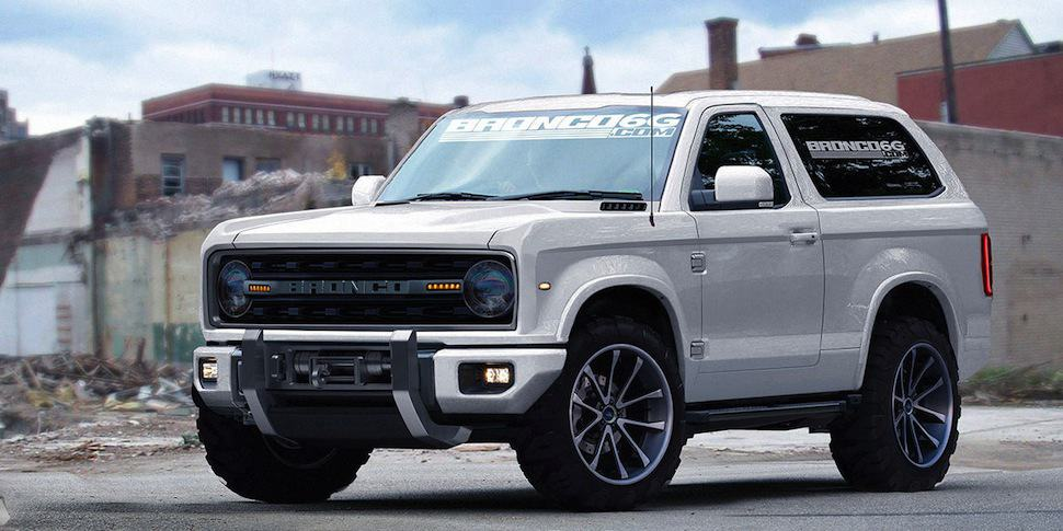 The 2020 Ford Bronco Concept We Wish Were Real