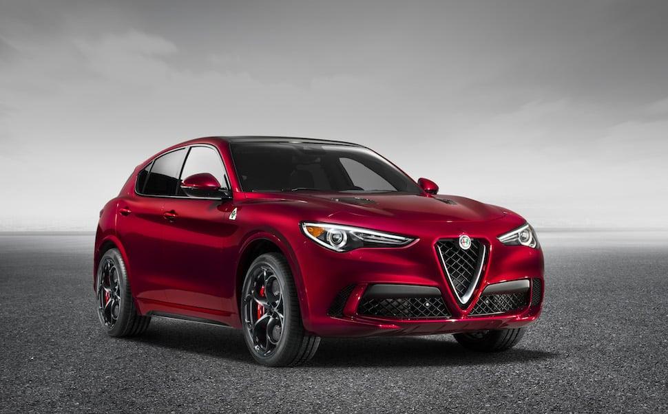 New 280-hp 2018 Alfa Romeo Stelvio and Stelvio Ti Premium SUVs Hit the NY Auto Show